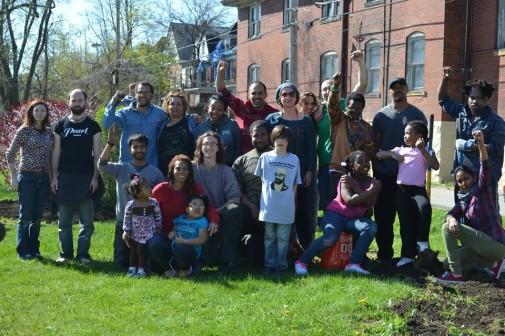 Urban Garden Team. Credit: GeAnita Smith/Ecosocialist Horizons